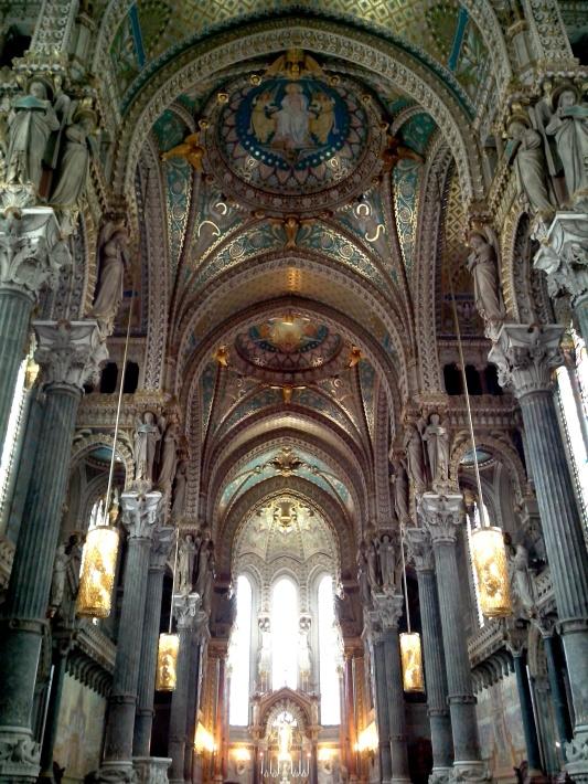 Basilica de Notre Dame de Fourviere, Lyon // A Beautiful Journey