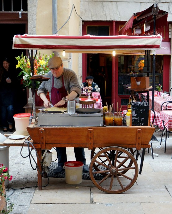 Crepes in Vieux Lyon // A Beautiful Journey