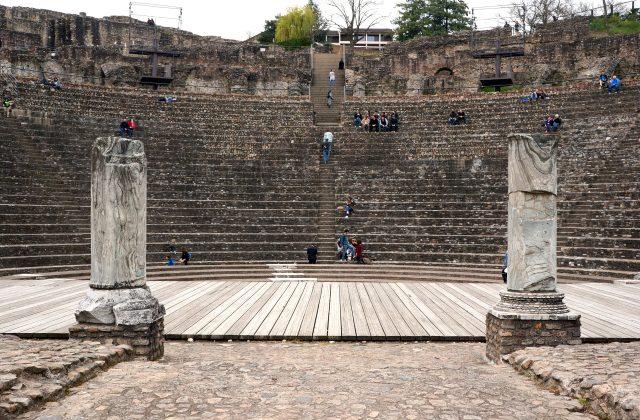 Roman Theatre, Lyon // A Beautiful Journey